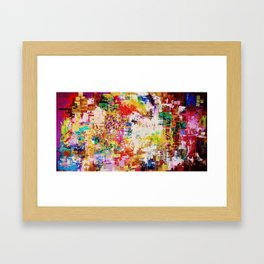 10 Hit Rainbow Framed Art Print