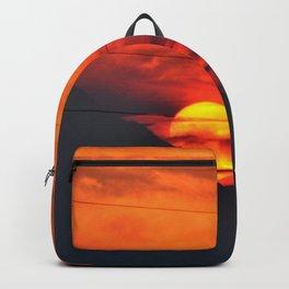 SUNSET OVER MOUNT HOOD Backpack