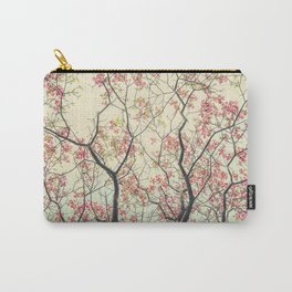 Pink Dogwood Tree Branches in Spring Carry-All Pouch