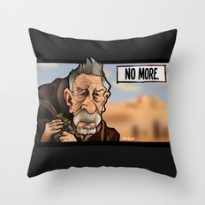 No More Throw Pillow