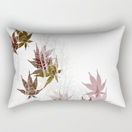 Leaves and Trees Rectangular Pillow