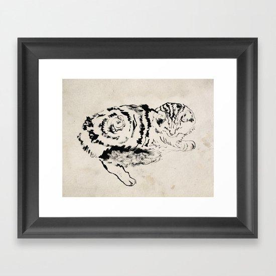 Harryhausen  Framed Art Print