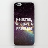 houston iPhone & iPod Skins featuring Houston by Text Guy