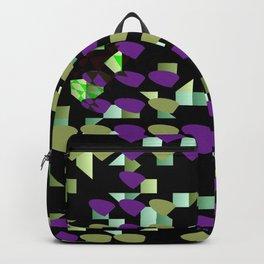 Magenta Lime Floaters Backpack