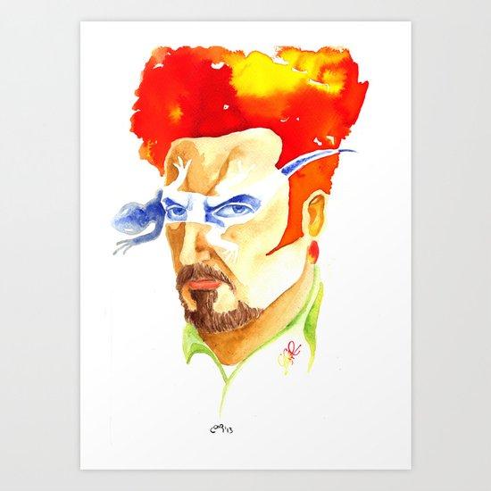Tino Casal Art Print