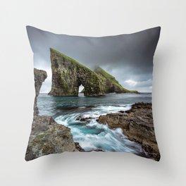 Drangarnir Arch Throw Pillow