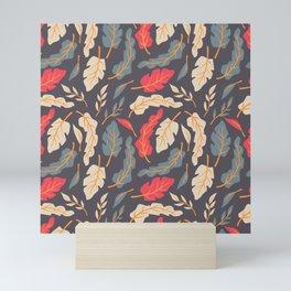 Vintage Floral Pattern 009 Mini Art Print