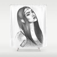 elf Shower Curtains featuring Elf Magic by zbrozhek