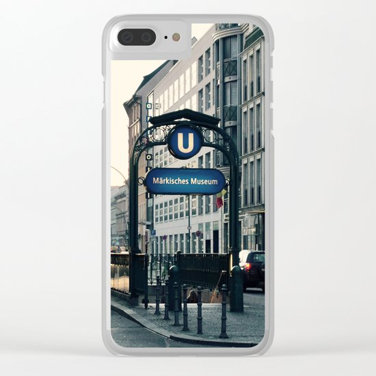 Subway 3 Clear iPhone Case
