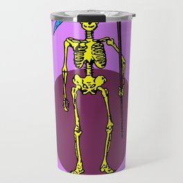 La Muerte Mexican Loteria Card Travel Mug