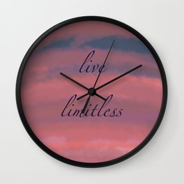 Cloud connection Wall Clock