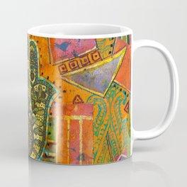 Boho & Batik Hamsa Coffee Mug