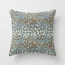 Wildcat Spots Pattern Throw Pillow
