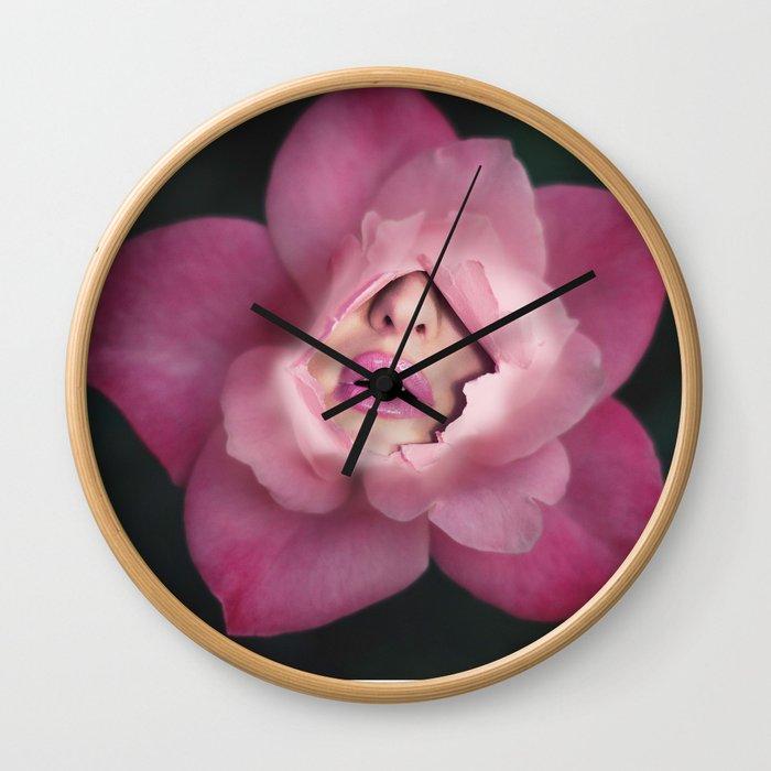 Surreal beauty Wall Clock