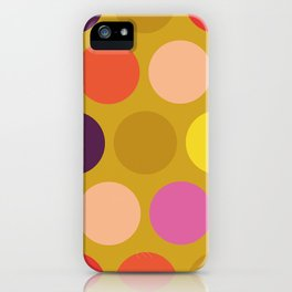 Miss Giggles Polka Dots iPhone Case