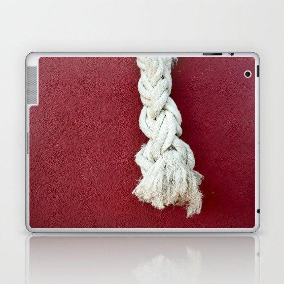 Marine rope Laptop & iPad Skin