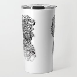Your Father Would be Proud Line Art Travel Mug