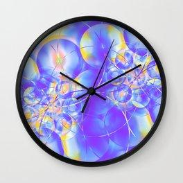 Electrons Wall Clock