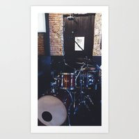drums Art Prints featuring Drums by Tanya Bhargava