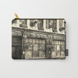 The Sherlock Holmes pub Vintage Carry-All Pouch