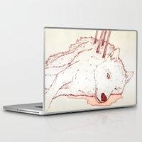 kim sy ok Laptop & iPad Skins featuring ok by Alexandre Lobo