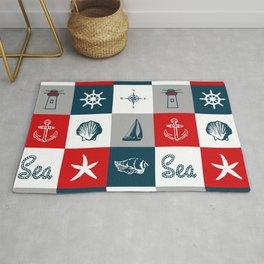 Nautical design 4 Rug