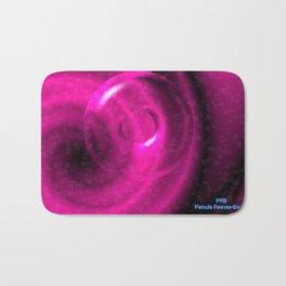 Magenta Pink Strangeness Bath Mat