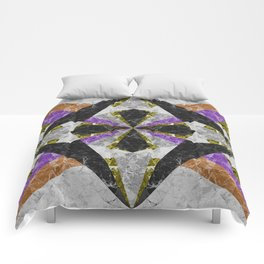 Marble Geometric Background G441 Comforters