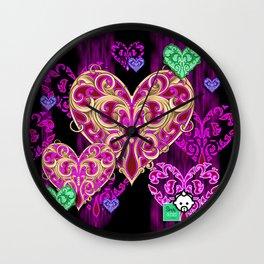 HEART Rain HD by JC LOGAN 4 Simply Blessed Wall Clock