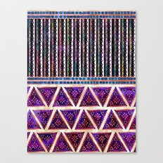 Ava Boho Mix Canvas Print