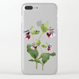 Comfrey Clear iPhone Case