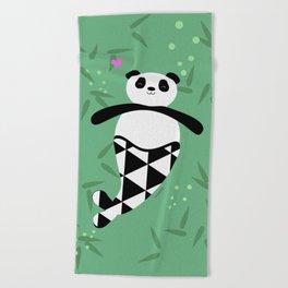 Merpanda Beach Towel