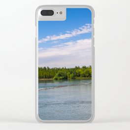Rivers of Patagonia Clear iPhone Case