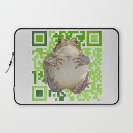 EcoQR Toad Laptop Sleeve