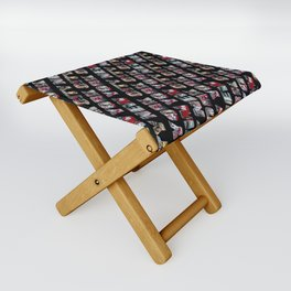 New York City (typography) Folding Stool