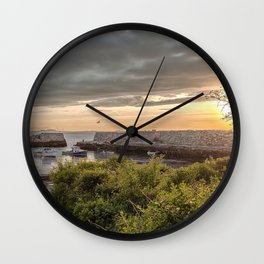 Lanes Cove Sunset 5-20-18 Wall Clock