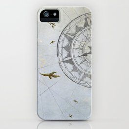 Losing Direction iPhone Case