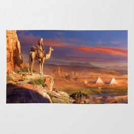 Camel Rider Rug