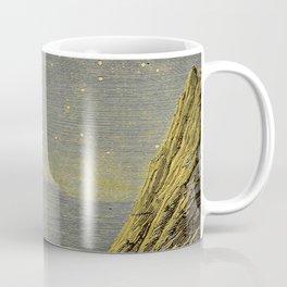 Astronomy for amateurs - 1904 Star Night Sky Landscape Coffee Mug
