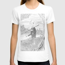 Tramp in search of identity T-shirt
