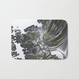 Ducat Waterfall (3D Digital Fractal Art) Bath Mat