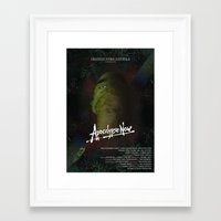 apocalypse now Framed Art Prints featuring Apocalypse Now by FSDisseny