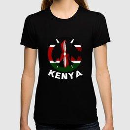 Kenya Peace Sign Tee T-shirt