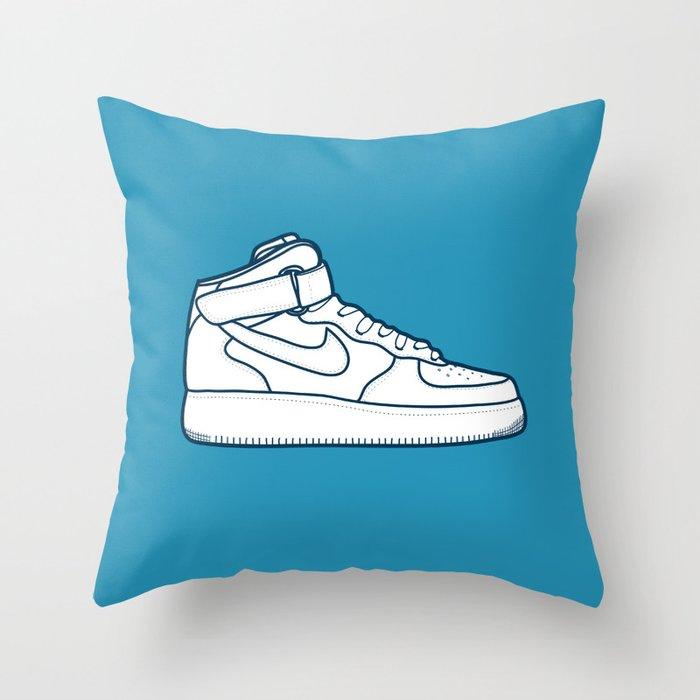 #13 Nike Airforce 1 Throw Pillow