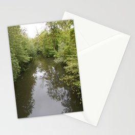 Odense River Print | Reflections in the Water | Nature Print |  Landscape Stationery Cards