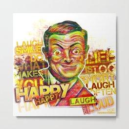 Mr Bean - Laugh Out Loud Metal Print
