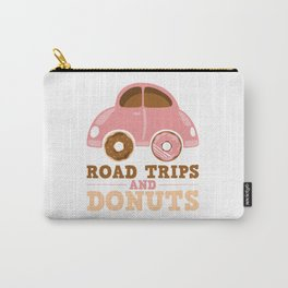 Road Trips And Donuts Carry-All Pouch