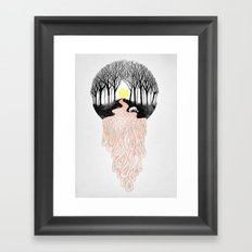 Through Darkness into the Light Framed Art Print