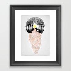 Through Darkness into the Light Framed Art Print