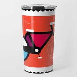 Postcards from Amsterdam / Bicycle Travel Mug